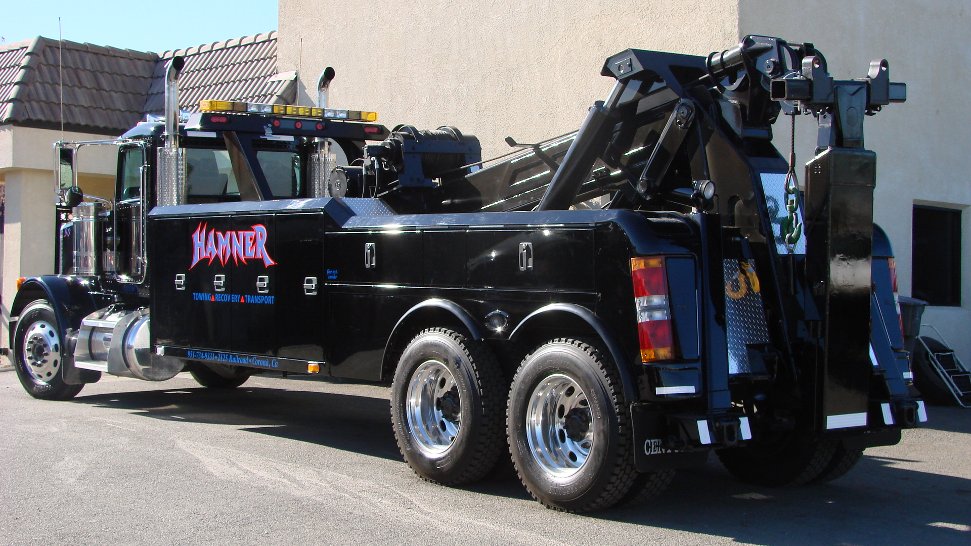 Heavy Duty Towing And Transport Services | Hamner Towing ...
